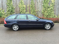 2003 (53) MERCEDES C200 ESTATE COMPRESSER SPORT AUTO ( last lady owner for 10/years )