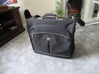 Carlton black canvas suit carrier for wedding business etc.,
