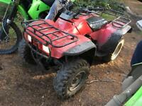 Honda big red 300 4x4 1990 original SWAPS , minter , not raptor qaudzila trx