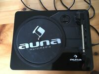 Auna multimedia compact turntable player TTS-T55