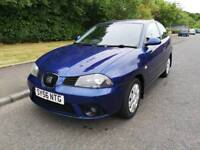 SEAT IBIZA 1.4 STYLANCE , 83000 GENUINE MILES , PART EXCHANGE TO CLEAR , NEW EXHAUST ,GOLF ,POLO ,
