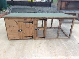 Dog Kennel /Rabbit hutch with Run