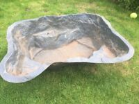 Pond liner in good condition