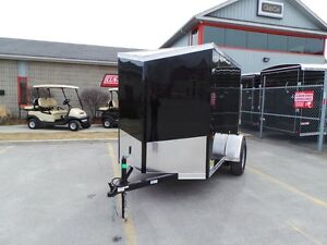 2018 Haulin HLAFTX58SA - ENCLOSED TRAILER WITH RAMP DOOR ALL PRO