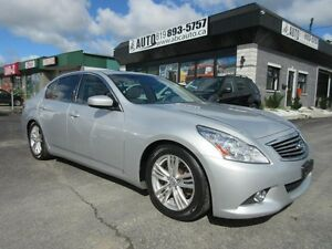 2012 Infiniti Berline G37 Luxury/Sport AWD, Sunroof, Heated seat