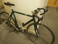 Edinburgh Revolution single speed/fixie flipflop road bike M