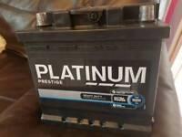 Platinum prestige car battery 1 month old