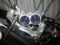 Hope Mono M4 203mm front and rear brake