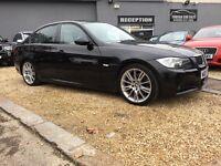 2007 BMW 330D M SPORT AUTO BLACK SALOON ...... P/X WELCOME