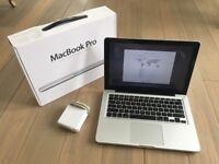 MACBOOK PRO UNIBODY 13 INCH 2.7, 4-16GB DDR3 RAM, 500gb, OFFICE 2016, ADOBE CS6
