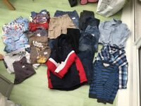 Boys aged 4-5/ 5-6 years clothes bundle