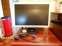 LCD monitor & keyboard