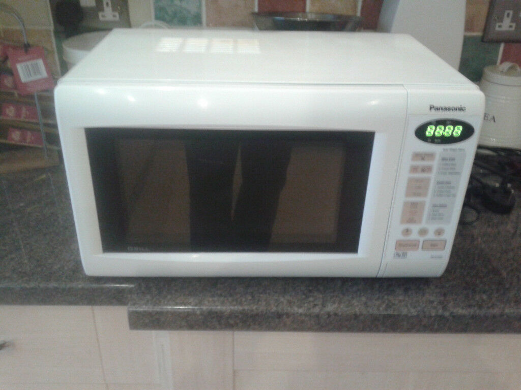 Panasonic NN-K155W Digital Microwave Oven with Grill