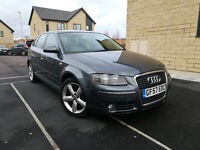 AUDI A3 2.0 TDI SPORT AUTOMATIC WITH PADDLE SHIFT GEARS