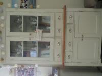 Mark Webster, glazed dresser.