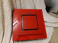 Red glass extractor fan