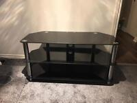 Tv unit smoked glass
