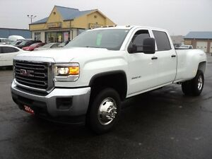 2015 GMC Sierra 3500 HD CrewCab 4X4 Dually