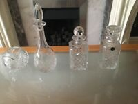 Classic wine glass decanters