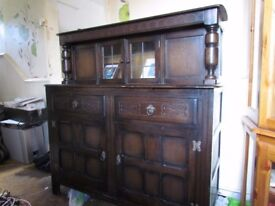 lovely mahogany unit