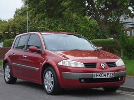 Renault Megane 1.6 VVT Dynamique 5dr£899 p/x welcome 12 MONTHS MOT,READY TO DRIVE