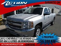 2012 CHEVROLET SILVERADO 1500 4WD EXTENDED CAB LT 5.3 LITRES  GR