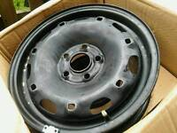 """Steel wheels 14"""" 5 x 100 PCD perfect for winter tyres"""