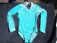 GIRLS 'ZS' LEOTARD - LONG SLEEVE - AGE 8-9? SIZE 28