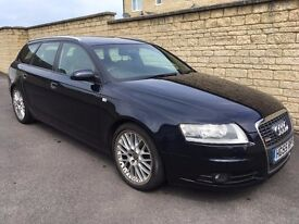 AUDI A6 2.7TDI S line. Low mileage avant. Very rare. No DPF, manual gearbox! HPI clear. CHEAP!!