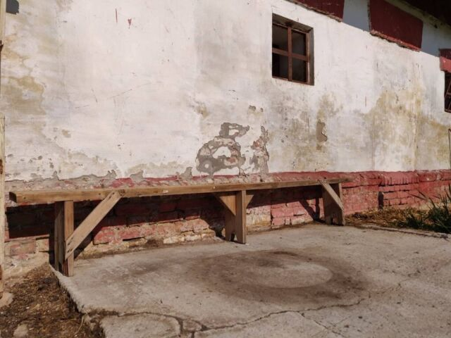 Superb Old Wooden Vintage School Garden Bench Rustic Decor Chairs Stool Picnic In Finsbury Park London Gumtree Gmtry Best Dining Table And Chair Ideas Images Gmtryco