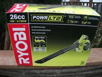 NEW! COST £169.99! Professional Ryobi RBV26B Petrol Garden Leaf Vac / Blower NEW! BARGAIN!