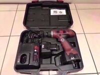 Cordless Hammer Drill with Mains Charger in Case. Faulty battery