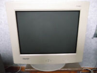 "Computer 17"" Monitor Hansol 710D"