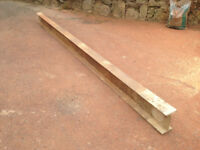 "Steel RSJ beam/lintel 4"" X 7"" X 11FT 100mm X 178mm X 3.35m"