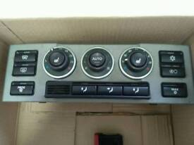 RANGE ROVER L322 AIR CON HEATER CONTROL PANEL HEATED SEAT Control 02-05