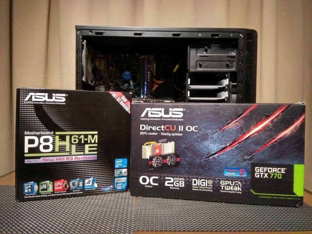 i5 2400 GTX 770 8GB Ram 1TB HDD Fractal Design Case Gaming PC