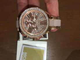 Michael Kors wren rose gold watch brand new