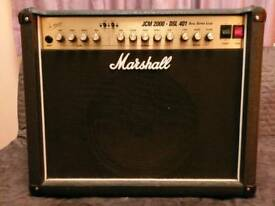 Marshall JCM 2000 DSL 401 guitar amplifier