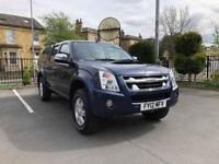 2012 ISUZU RODEO DENVER 2.5L DIESEL 4X4 DOUBLE CAB