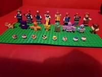 Pokemon Lego figures +Pokemon set