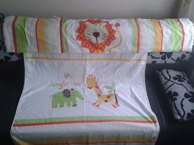 Cot Quilt and Bumper Set