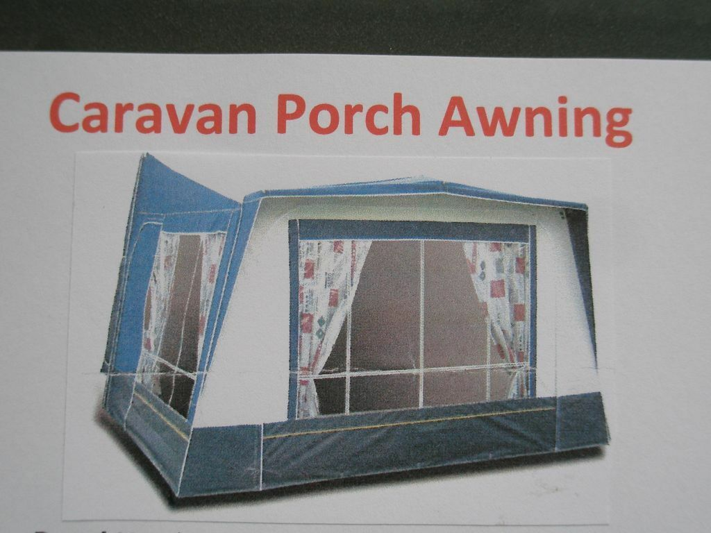 Royal Harrison Caravan Porch Awning Excellent Condition