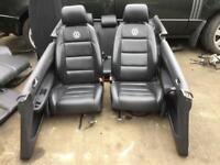 VW Golf fsi 3 Doors 2006 Complete interior Leather Seats