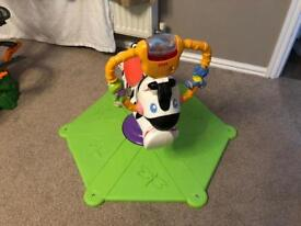 Bounce and spin Zebra (Fisher Price)