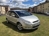FORD S-MAX 2.0 TDCI TITANIUM 09 REG 7 SEATER 2 OWNER 12 MONTHS MOT FULL SERVICE HISTORY
