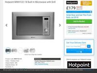 Hotpoint Built-in Microwave and Grill