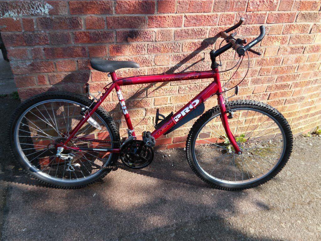 """men's townsend team pro bike 26"""" wheels"""