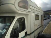 Motorhome for sale loads of new items batteries tv micro gas bottles solar panel spare tyre