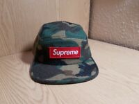 Supreme Camo Box-Logo Camp Cap Deadstock