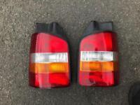 Genuine VW Transporter Caravelle T5 Rear Lights